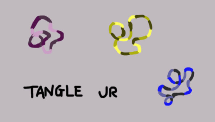 fidget spinner tangle jr